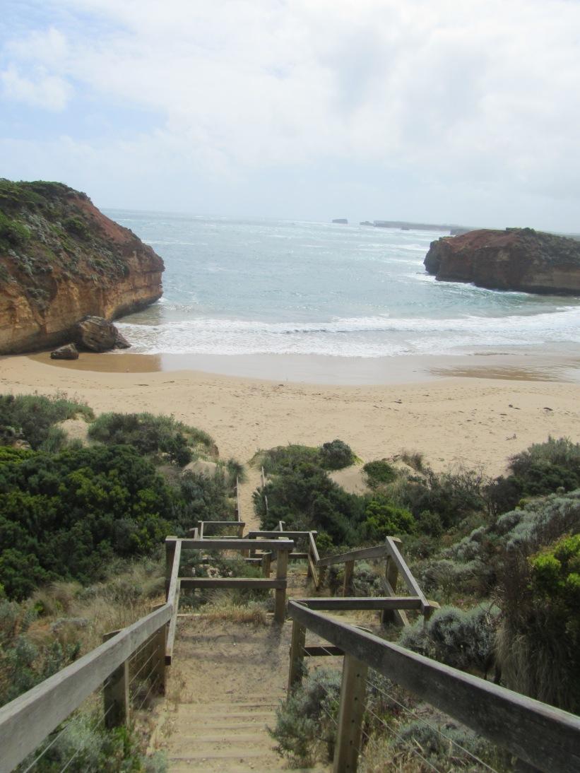 Certaines plages sont facilement accessibles à pied.